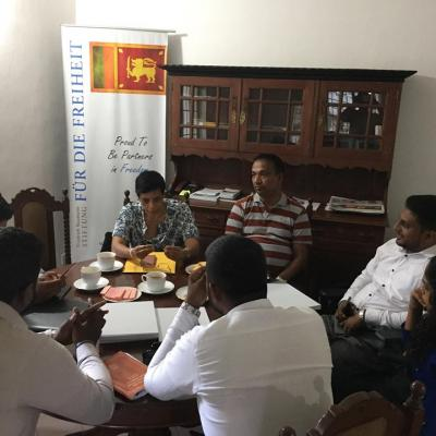 The first meeting between FNF and IDL was held on 09th January 2019 at the FNF office in Colombo